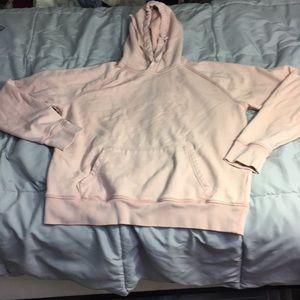 Light pink gap hoodie